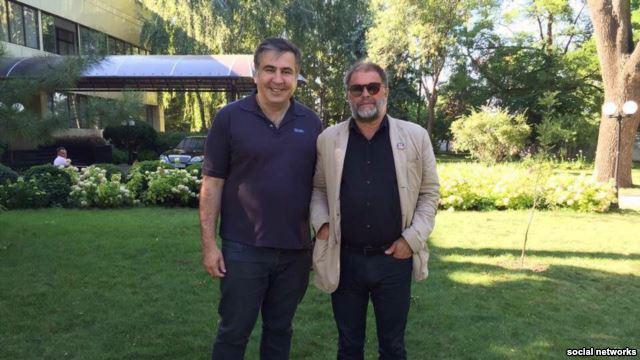 Саакашвили выложил видео застолья с Гребенщиковым