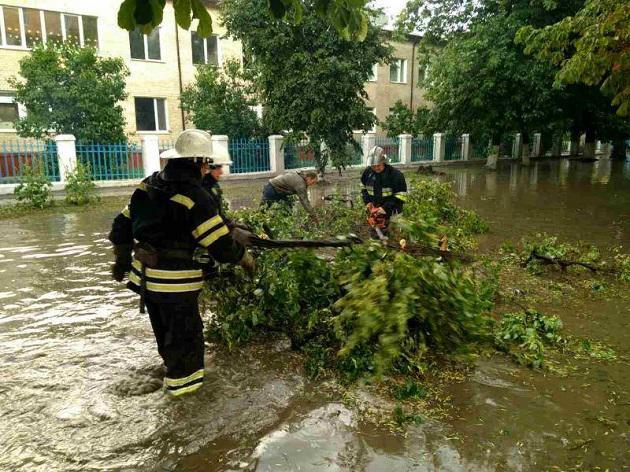 Вгосударстве Украина непогода оставила без света 109 населенных пунктов