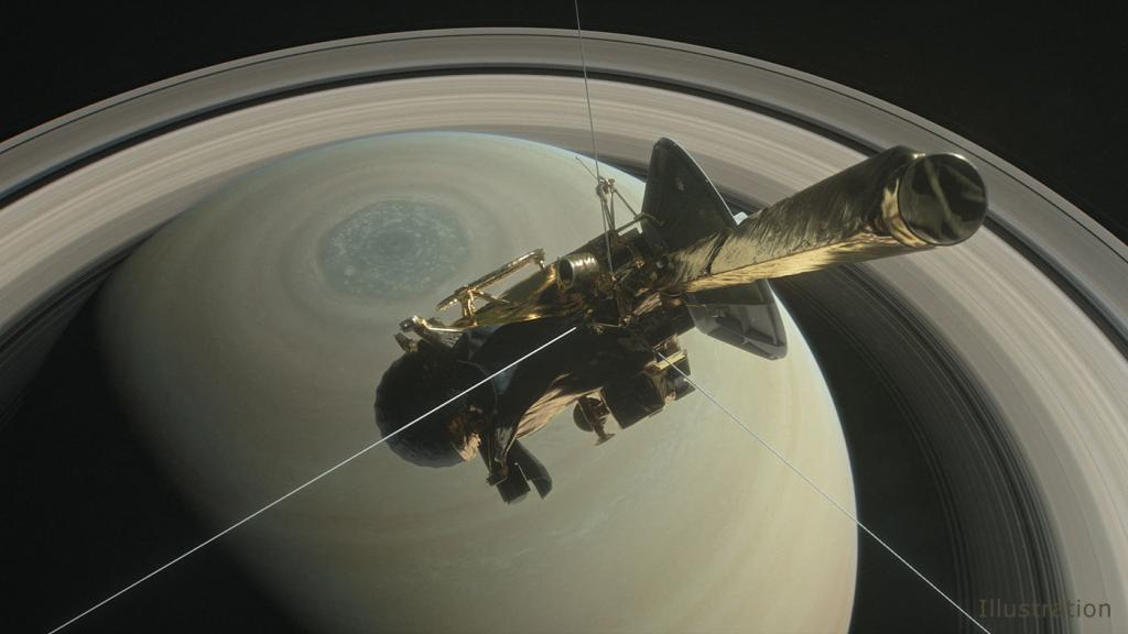 Зонд Cassini, поработавший 20 лет, закончил свое существование, сгорев ватмосфере Сатурна