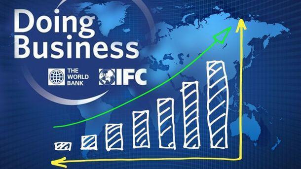 Украина поднялась на 76 место ве Всемирного Банка Doing Business