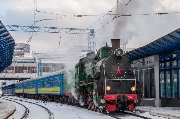 ВКиеве запустят экскурсионный ретро-поезд
