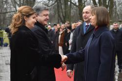 П.Порошенко в Таллинне встретился с украинской общиной