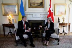 Президент Украины встретился с премьер-министром Великобритании