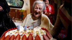 В Италии скончалась самая старая женщина в мире