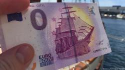 В Германии появилась банкнота в ноль евро