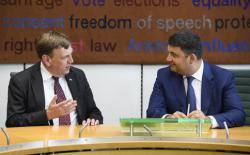 В.Гройсман: Украина и Британия выходят на новый уровень сотрудничества