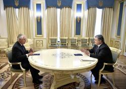 Встреча Президента Украины с Государственным секретарем США