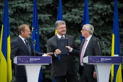 Порошенко: В Соглашении об ассоциации зафиксированы европейские устремления Украины