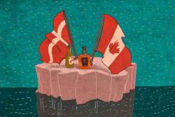 """""""Война виски"""" за остров Ганса. Как Канада и Дания делят спорную территорию."""