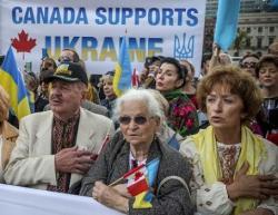 Президент Украины Петр Порошенко встретился с представителями украинской общины Канады