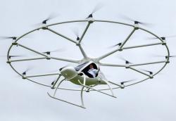 В Дубае провели испытания первого в мире беспилотного летающего такси