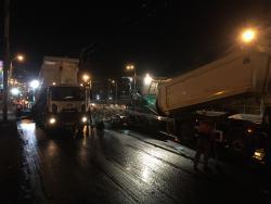В столице круглосуточно ремонтируют объекты транспортной инфраструктуры