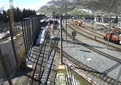 В Швейцарии поезд столкнулся с локомотивом