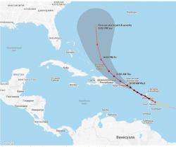"Пуэрто-Рико оказалось во власти урагана ""Мария"""