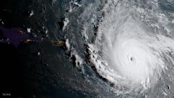 """Фотография урагана """"Ирма"""" из космоса"""