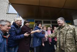 Президент: Буду делать все от меня зависящее, чтобы наконец на украинскую землю пришел мир