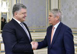 Президент Украины встретился с министром иностранных дел Испании