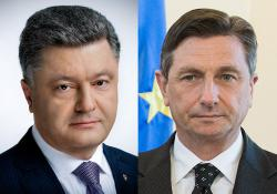 Президент Украины провел телефонный разговор с Президентом Словении
