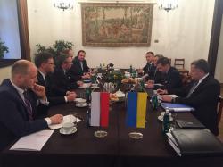 Заместитель Главы АП К.Елисеев провел встречу с Государственным секретарем Республики Польша К.Щерским