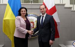 Вице-премьер-министры Грузии и Украины обсудили совместные задачи по европейской и евроатлантической интеграции и стратегических коммуникациях
