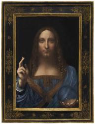 """Картина Леонардо да Винчи """"Спаситель мира"""" продана на аукционе Christie's за рекордную сумму"""