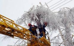 В Украине из-за непогоды обесточены 537 населенных пунктов