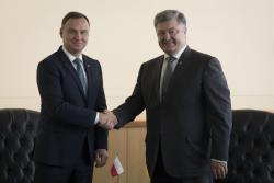 Президент Украины Петр Порошенко встретится с Президентом Польши Анджеем Дудой