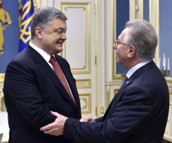 Президент Украины провел встречу с Председателем Венецианской комиссии