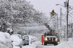 Снегопад в Украине: обесточены 147 населенных пунктов