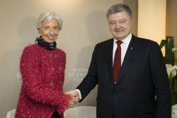 Президент Украины провел встречу с Директором-распорядителем МВФ