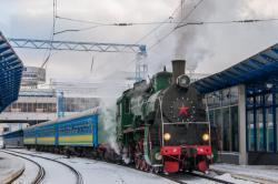 Первый ретропоезд в новом году отправится с киевского вокзала 14 января