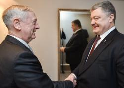 Президент Украины провел встречу с Министром обороны США