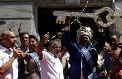 В Рио-де-Жанейро состоялось торжественное открытие карнавала