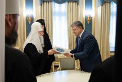 Президент провел встречу с Предстоятелем православных церквей Украины