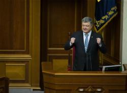 Президент: Томос об автокефалии Украинской Православной Церкви укрепит независимость Украины