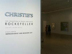 Christie's выставляет на продажу коллекцию предметов искусства Рокфеллеров