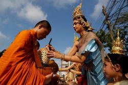 В Таиланде празднуют буддийский Новый год