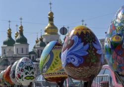 В Киеве стартовал традиционный фестиваль писанок
