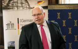 В Киев с визитом прибыл министр экономики Германии