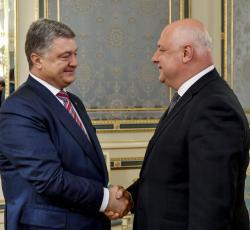 Президент Украины принял Президента Парламентской ассамблеи ОБСЕ