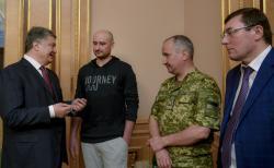 Президент Украины встретился с журналистом Аркадием Бабченко
