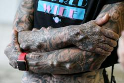 В Киеве начался зрелищный фестиваль тату