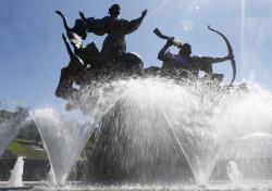 В Киеве зафиксирован температурный рекорд