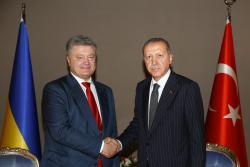 Президент Украины провел переговоры с Президентом Турции