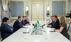 Президент Украины принял Министра иностранных дел Литвы