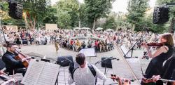 В парке Киева пройдет необычный концерт