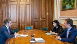 Первый заместитель Главы АПУ провел совещание с участием заместителя Генпрокурора и директора Музея Революции достоинства