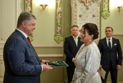 Президент Украины принял верительные грамоты Послов Люксембурга, Кыргызстана и Марокко