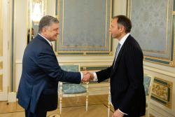 Президент Украины встретился с Заместителем Государственного секретаря США по вопросам энергетических ресурсов