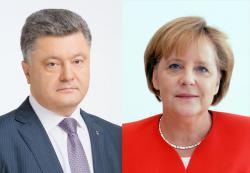 Президент Украины провел телефонный разговор с Канцлером Германии